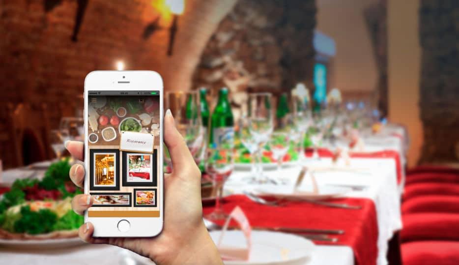 Applicazioni mobili iOS e Android per attività commerciali