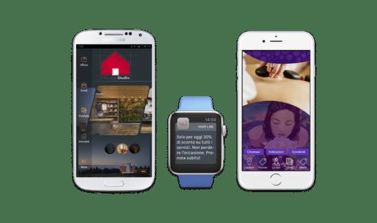Applicazioni mobili iOS e Android per locali