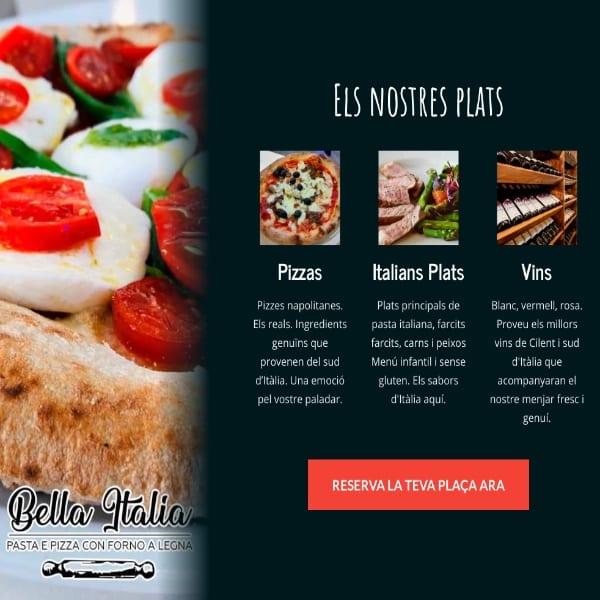 Sito Web premium ristoranti e pizzerie