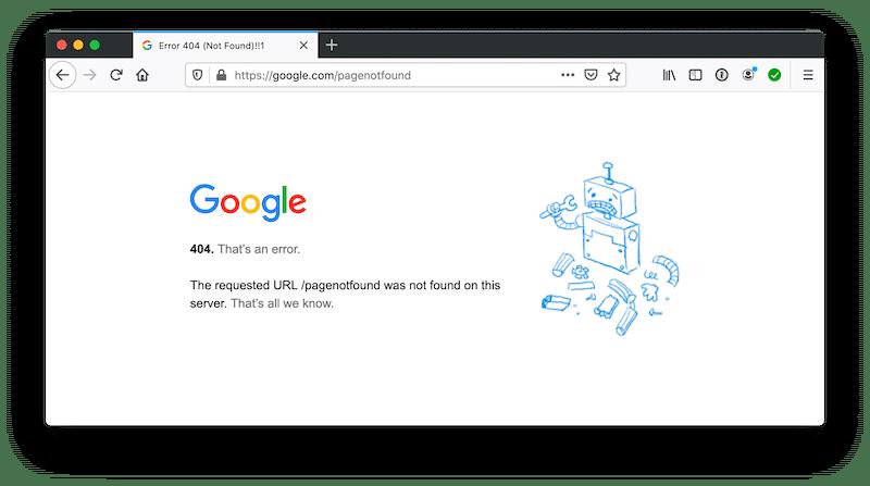 pagina 404 - errori da evitare nel tuo sito web