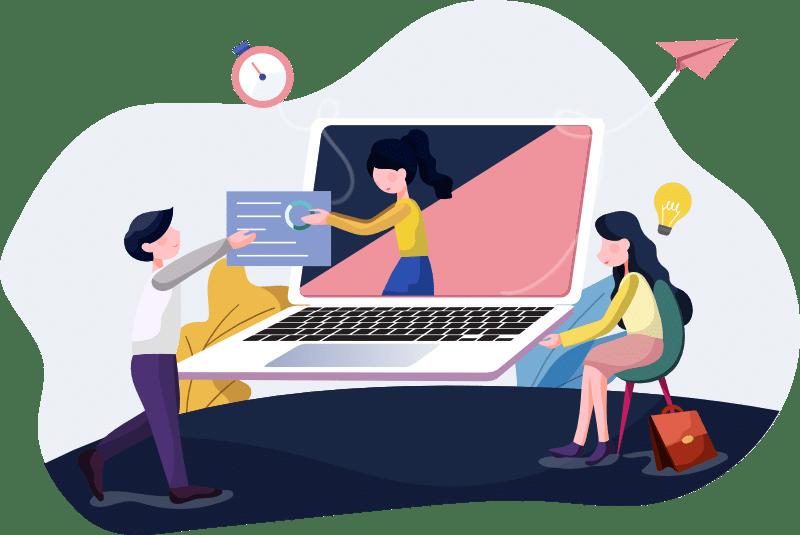 Siti web premium - sviluppo della storia bk