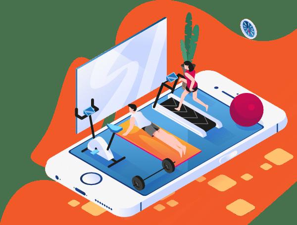 Applicazioni mobili per palestre e sport