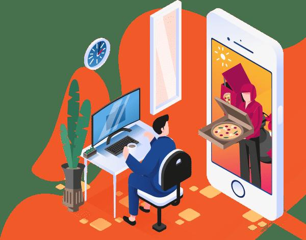 Mobile App take away restaurant