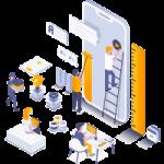 Applicazioni mobili offerta